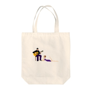 musician abe-san2 Tote bags