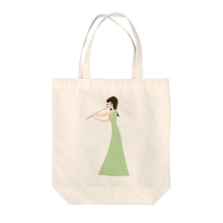 musician izumi-san Tote bags