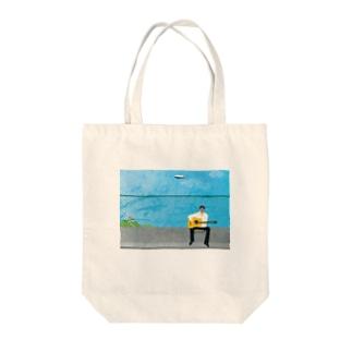 musician isao-san Tote bags