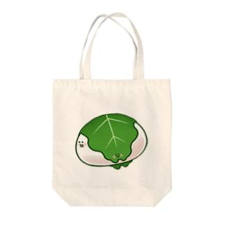 かしさんもちさん Tote bags