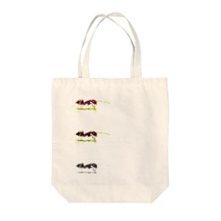 ありんこ Tote bags