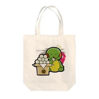 かめ吉・September Tote bags