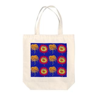 打ち上げ花火 Tote bags