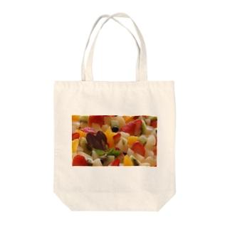 Fruitcake Tote bags
