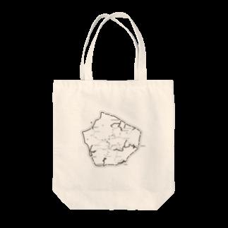 YmanchuのASCEND A YAKUSHIMA Tote bags