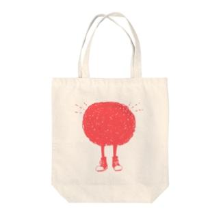 もじょもじょくん Tote bags
