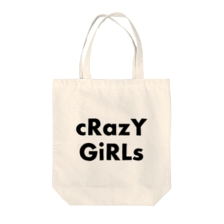 cRazY GiRLs Tote bags