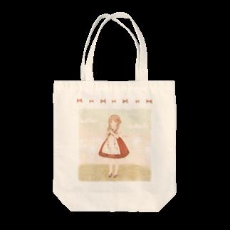 *momochy shop*の*おんなのこ* Tote bags