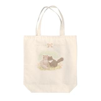 *ねこりぼん* Tote bags