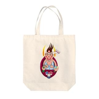 湯田六輔 異能兄弟シリーズ06 Tote bags
