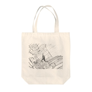 inception_usa Tote bags