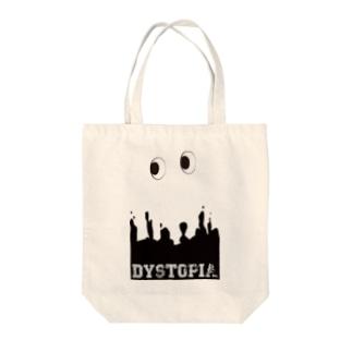 DYSTOPIA EYE Tote bags