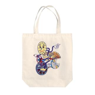 アニメアニムス Tote bags