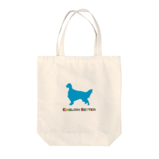 English Setter Tote bags