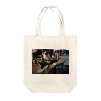 チャンケンFROM LA Tote bags