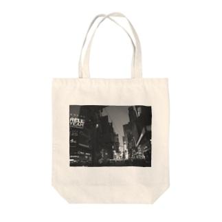 NYマンハッタン Tote bags