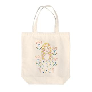 ガーリーポップ☆ Tote bags