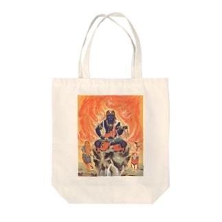 不動明王 Tote bags