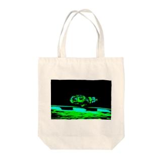 ハングオン Tote bags