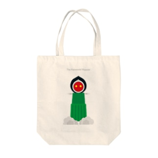 The Flatwoods Monster Tote bags