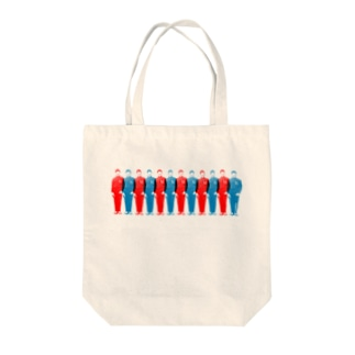UN兄弟 ずらり Tote bags