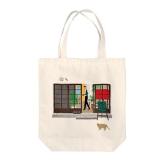 珈琲店 Tote bags