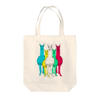 So What マルチカラー Tote bags
