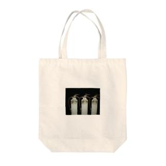 消火器のレントゲン Tote bags