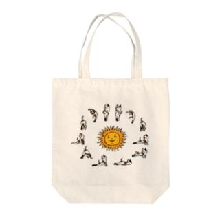 swami nekonyanda surya namaskar Tote bags
