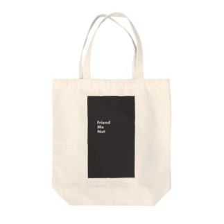 Friend Me Not. Mystic & Revolver Tote bags