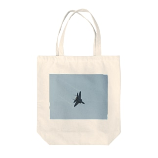 フライト Tote bags