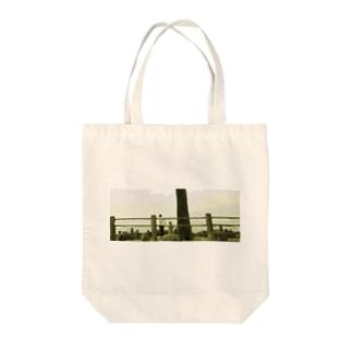 樹下の青年と少女 Tote bags