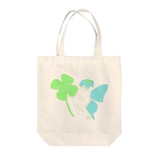 幸せの妖精 Tote bags