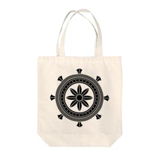 家紋 加納輪宝 Tote bags