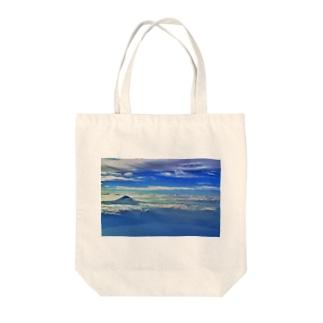 富士 Tote bags