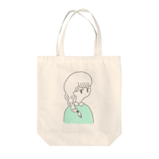 osage girl Tote bags