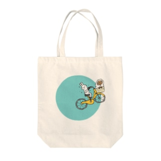 Blue Moon Usagi Tote bags