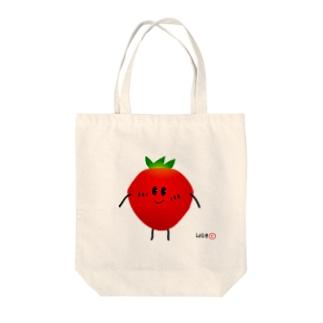 ベリーベリーストロベリー Tote bags