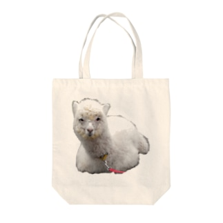 アルパカ Tote bags