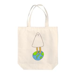 地球の守護霊 Tote bags