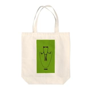 かえるとび_green トートバッグ
