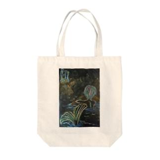 愛汰の人魚姫の姉 Tote bags