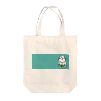 アシベズヘアのゴマッチョ Tote bags