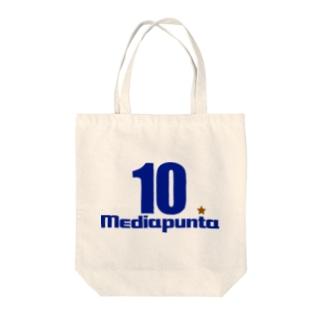 メディアプンタ Tote bags