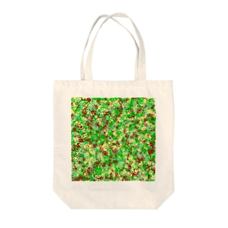 Camouflage(Cat's Footmark) Tote bags