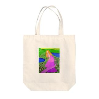花のひと Tote bags