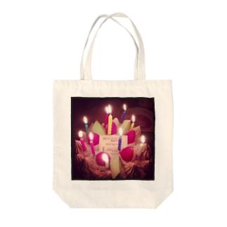 かなちゃん Tote bags