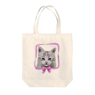 猫のmuffin トートバッグ