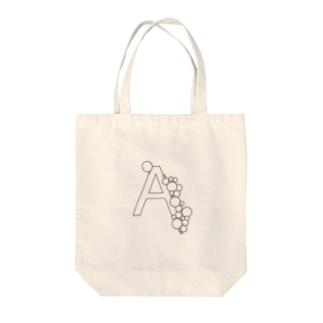 ブクブクのA Tote bags