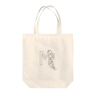 ブクブクのM Tote bags